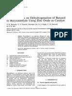 Butanol - butanal