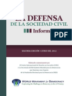 (Spanish) Defending Civil Society Report 2nd Edition