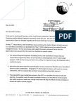 Letter from Greater Holyoke Chamber of Commerce and Holyoke Taxpayers Association