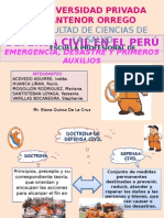 Defensa Civil en El Perú