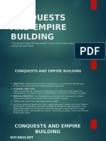 Conquests and Empire Building