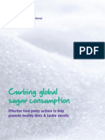 Frenar el consumo mundial de azúcar (Curbing Global Sugar Consumption)