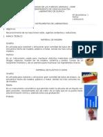laboratorio quimica 1 - ESPE