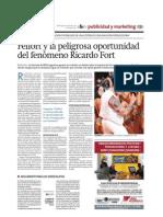 Ricardo Fort El Observador de Monte Video Por G. Malvasio