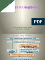 Case (1a) Fungsi Manajemen (2013)