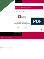 Análisis Económico Mercados No Competitivos