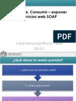 Sesiones 16. Consumir - Exponer Servicios Web SOAP