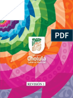 Plan Municipal de Desarrollo San Pedro Cholula 2014 2018