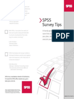 SPSS Survey Tips