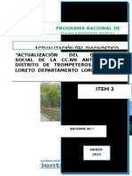 Actualización Del Diagnostico Cc.nn Antioquia
