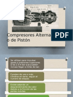 Compresores Alternativos o de Piston