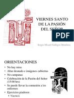 Viernes Santo de La Pasión Del Señor (Celebración litúrgica, ciclo B)