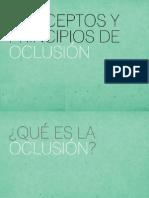 oclusion conceptos basicos