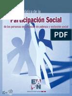 Guía Metodológica de Participación Social de Las Personas en Situación de Pobreza y Exclusión Social