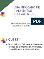 Sistema Mexicano de Equivalentes 1