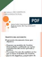 Lectura Complementaria - Modelo Teorico de Gestion Organizacional- Garcia Zappone