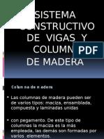 Columnas y Vigas Madera