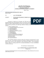 MC-2011-14 Coop Training List Submission