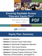 Presentation - Educator Equity Plan