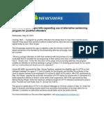 Gov. Rick Snyder Signs Bills Expanding Use of Alternative Sentencing Program for Youthful Offenders