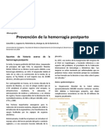prevencion hemorragia postparto