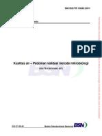 248415798 4232 SNI ISO TR 13843 2011 Kualitas Air Pedoman Validasi Metode Mikrobiologi
