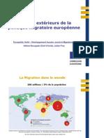 Aspects internationaux des politiques en matière de migrations Hélène BOURGADE