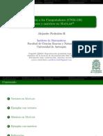 Matlab - Vectore y Matrices