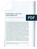 Suicide Risk in Latino and Latina Adolescents