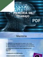 Memoria de Trabajo