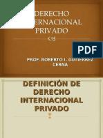 Definicion Del Derecho Internacional Privado