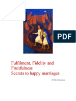 Secrets to Happy Marriages