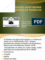 Universidad Auntonoma Del Estado de Morelos