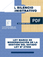 EL SILENCIO ADMINISTRATATIVO - APECC 04_05_15.ppt