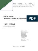 GRUPO 2 Informe de Cooperativas. Prof Oswardo
