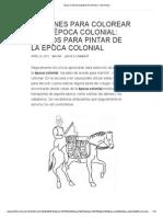 Epoca Colonial Argentina Para Ninos _ Todo Actual
