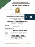 Introduccion Experimental al Analisis Periodico