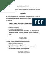 DILIGENCIA DE PATRIMONIO FAMILIAR.doc