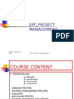 EPC-Project Management Bahasa Indonesia