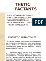 synthetic surfactant