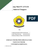 Tambang Nikel PT. ANTAM Di Sulawesi Tenggara