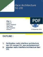 Klp 1 BAB 8- Radio Interface Arcitecture 2G 3G 4G 5G LTE-V2