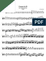 Pachelbel Canon Viola