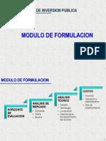 Modulo II - Formulacion