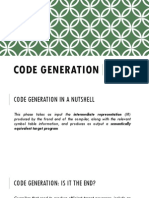 01 Issues With the Code Generator