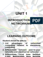 Chapter 1 - Introduction to Networking