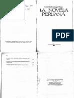 22 -Cornejo Polar - La Novela Peruana, Matalache (10 Copias)