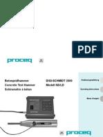 ProCeq - Concrete Test Hammer