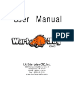 Warthog CNC Owner's Manual