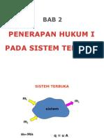 Bab II 3 Penerapan Hukum i Pada Sistem Terbuka1